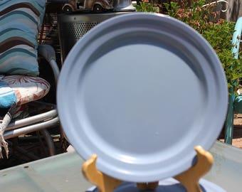 1950u0027s Vintage Brook Park Restraware Melmac / Melamine Set of 8 - 4 Dinner Plates #162 u0026 4 Salad Plates - Dusty Blue - Very Good Condition & Melmac salad plates | Etsy