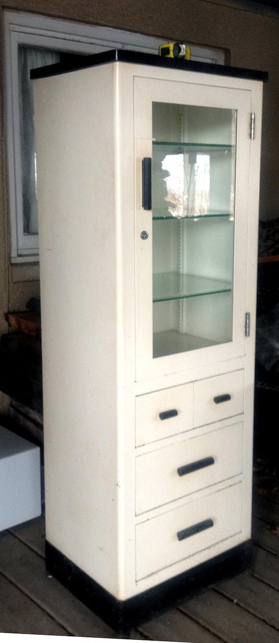 Superbe Vintage Medical Cabinet By Max Wocher U0026 Son Co.