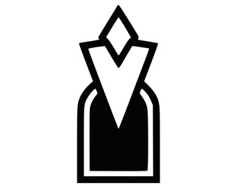Skyrim inspired Quest Marker Decal 0083