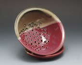 Handmade Pottery Berry Bo...