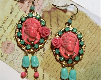 CAMILLE statement earrings