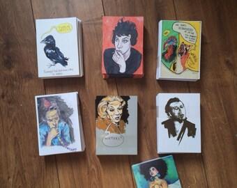 7 art cards for E12,-/7 art cards for E12,-