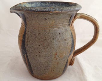 Stonewware Pottery Pitcher