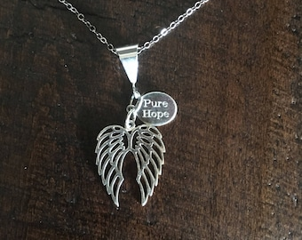Sterling Silver REFLECT Pendant Necklace