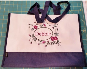 Custom Personalized Tote Makes A Great Gift For Bridesmaids Or Birthday