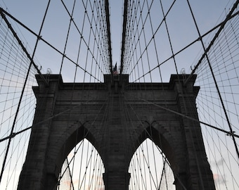 Brooklyn Bridge Canvas Photo
