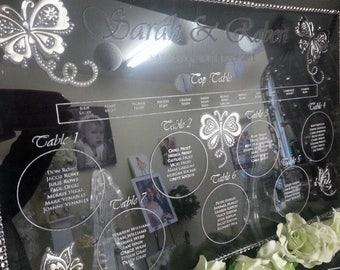 Luxury Table Plan (Acrylic)