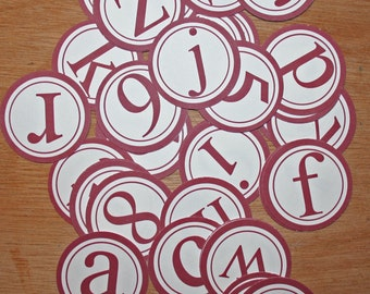 AlphaBets - White Self-adhesive
