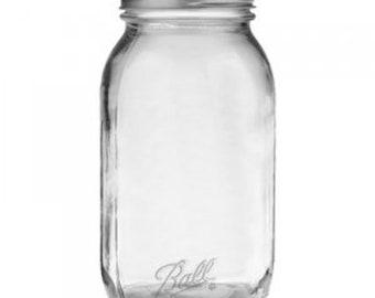 Ball Smooth Sided Mason Jar Regular Mouth 32 oz