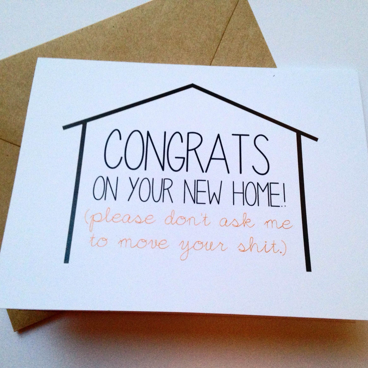 Best House Of Cards Quotes: Moving Congratulations Card / New Home Card / Funny Moving