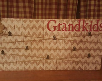 12X24X1 Picture Board (Grandparent, Baby Shower, College, Birthday, Family, Wedding, Vacation)