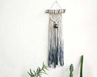 Macrame Wall Hanging, Modern Macrame, Dip Dye macrame, Wall Art, Boho Wall Hanging, Wall Tapestry, Macrame Tapestry, Boho art, boho decor