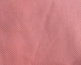 Calvin Klein Pink Textured Cotton Fabric 1.5 yards