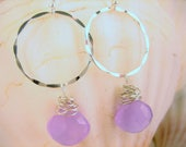Purple Candy Sterling Silver Natural