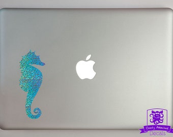 Seahorse Macbook Laptop Decal