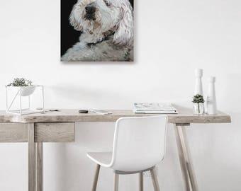 Custom Oil Painting Pet Portrait | Realistic Pet Portrait | Oil Painting | Made to Order | Hand Painted | Pet Gift Idea