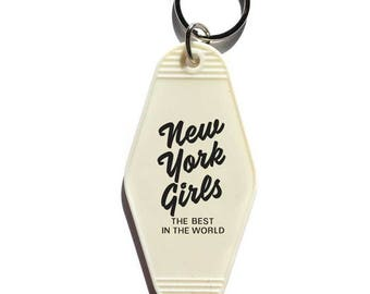 New York Girls Key Tag