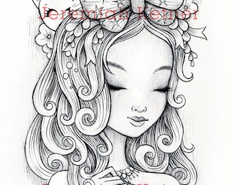 The Great Bow - Coloring page