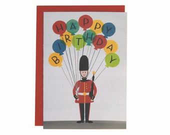 London Guard Birthday Card (The Emily)