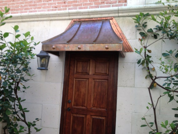 Cypress Sweep Copper Awning By Classiccopper Com