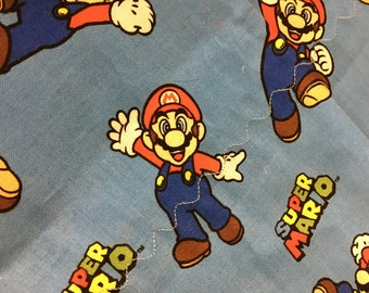 Kids Weighted Lap Pad/Mario weighted lap pad/Autism/Aspergers/OCD/ADHD/Anxieties/calming/