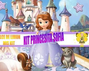 kit  princesita sofia !!!