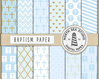 CHILD OF GOD, Baptism Digital Paper, First Communion Paper, Holy Cross, Holy Bible, For Invitations, Scrapbooking, Digital Download BUY3FOR6