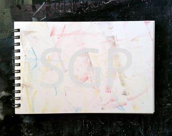 Sketchbook Journal Chalkboard Art Stock Photography, Stock Photos Digital Download, Digital Paper, Scrapbook Journal Paper, Wall Art