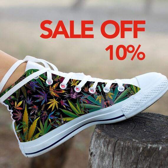 fa88731320c Shoes Marijuana Weed heat htv 420 Converse Custom vinyl Custom Converse  transfer top Sneaker Cannabis Shoes ...