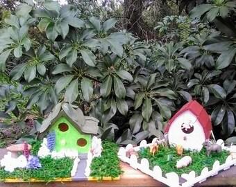 Small fairy garden houses