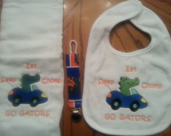 Florida Gators Baby Set