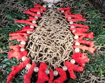Merman Coral Necklace