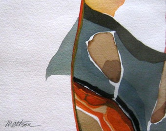 """Monarch Series :  """"  Oblique Reference""""    - Original, One-of-a-KInd"""