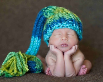 Knit Newborn Hat, Newborn Photography Prop