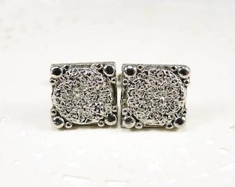 Vintage Metal Cufflinks