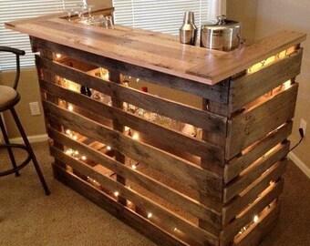 Custom wood bars