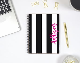 Personalized Notebook Spiral Bullet Journal Notebook, Custom Notebook Journal Personalized, Notebook Personalized Spiral Notebook A5