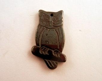 Hemalyke owl charm pendant