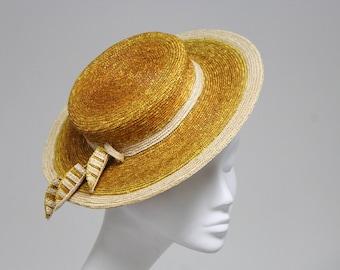 Lé Bouscat Hat in Marmalade