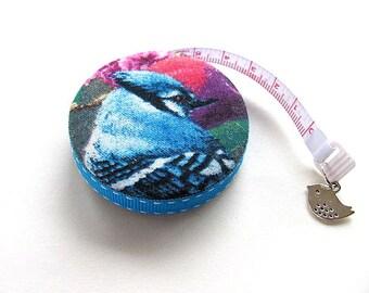 Tape Measure Blue Jay Birds Retractable Measuring Tape