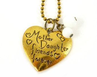 Reserved mother daughter necklace