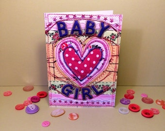 Baby Girl - New Baby Girl - Congratulations - New Baby