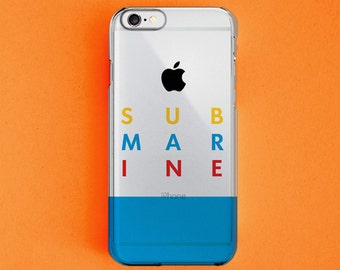 Submarine(2010) Film Poster Clear 3D Printed iPhone5/5s, iPhone6/6s, iPhone6/6s Plus, iPhone7, iPhone7 Plus Case