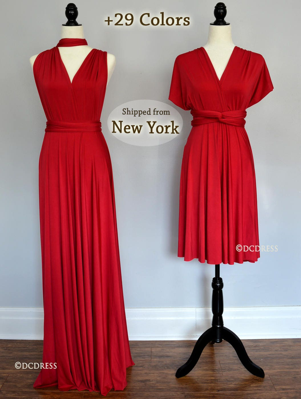 Ruby red bridesmaid dresses infinity dress dress dress zoom ombrellifo Images