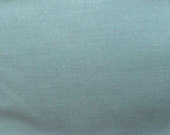 Aqua upholstery fabric