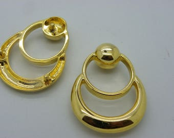 beautiful 3 spare brass 55 mm x 40 mm cabochon bags