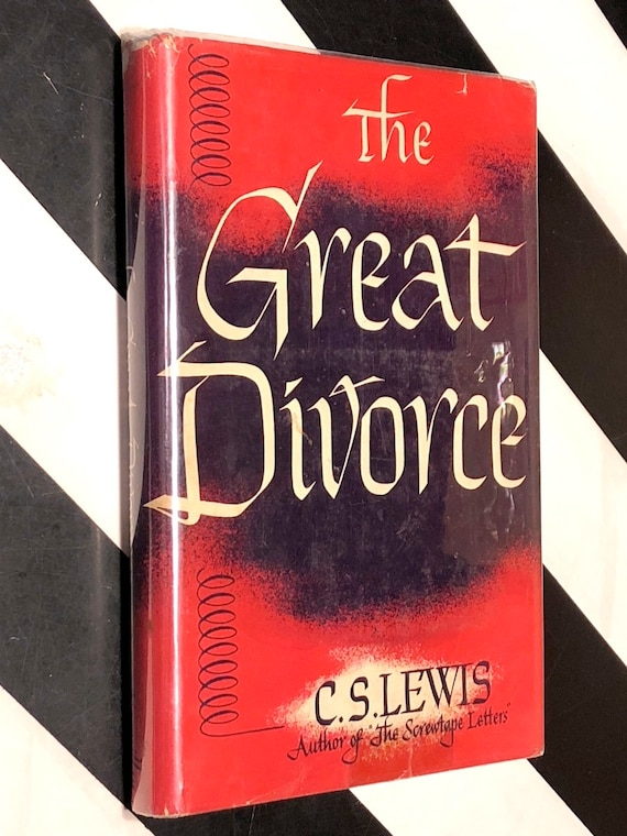 The Great Divorce by C. S. Lewis (1946) first edition book