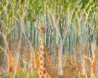 Giraffe From My Dream