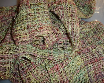Hand woven scarf, scarf, women's scarf, cotton scarf, ladies scarves, neck scarf, woven scarf, handwoven scarf, summer scarf, scarves