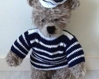 Bear knitting crochet